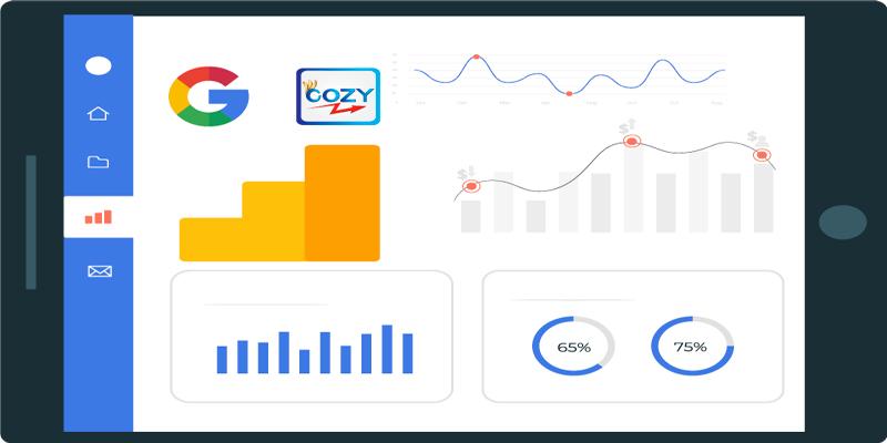 Cozy-Google-Analytics